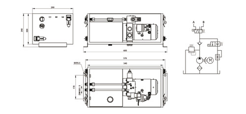汽车尾板基本结构与工作原理
