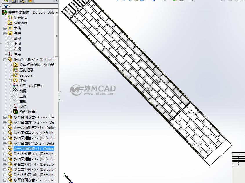 移动登车桥CAD图纸